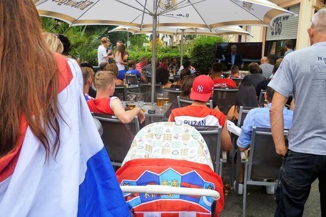 Was ging beim...WM-Finale-Gucken in der Leonardo Bar?