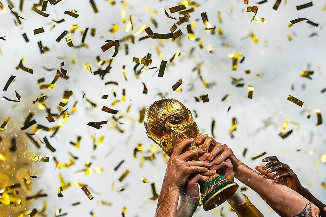 Die WM 2018 hat fußballerisch wenig Ne...terhaltsam war das Spektakel trotzdem.  | Foto: AFP