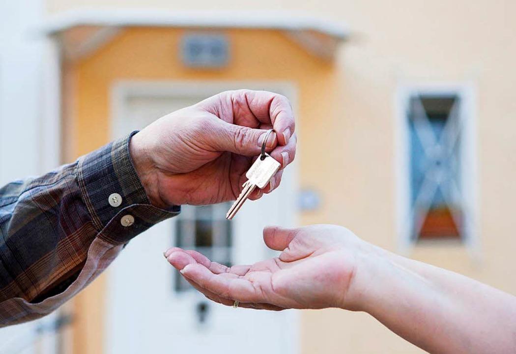 Ein Mietverhältnis zwischen Verwandten...et die üblichen Rechte und Pflichten.     Foto: Silvia Marks (dpa)