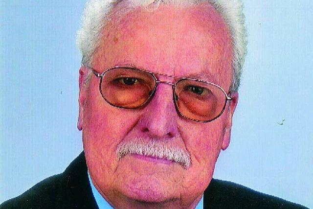 Stadtrat Wolfgang Meier ist gestorben