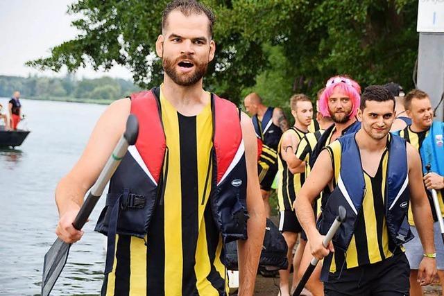 Rheinstromtage mit Drachenbootrennen
