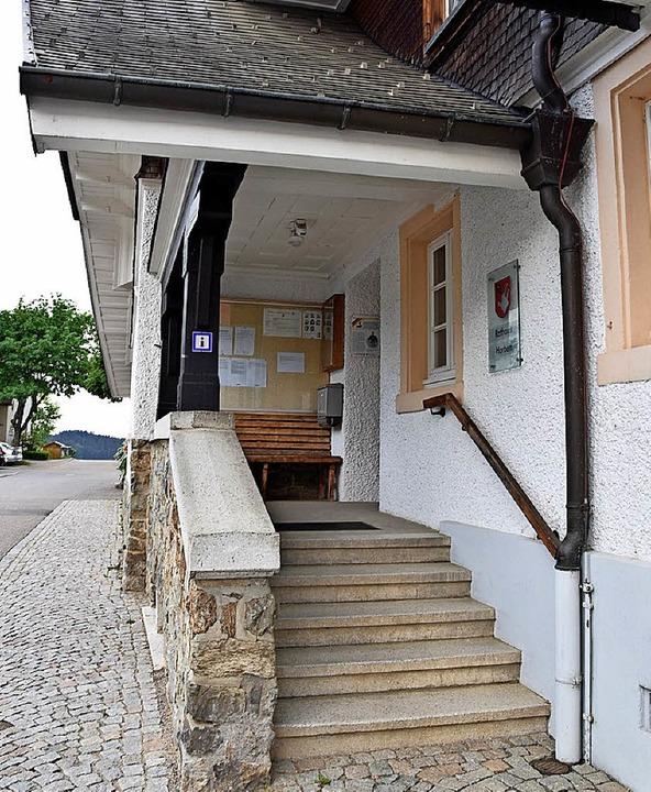 Thema bei den Bürgern in Horben  ist die Zukunft von Verwaltung und  Rathaus.   | Foto: Andrea gallien