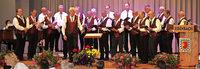 Die Schollacher Sänger können gut mithalten