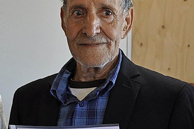 Mit 74 Jahren auf der Schulbank