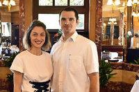Dieses Paar betreibt nun das glanzvolle Hotel Schiller