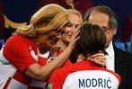 Fotos: So eroberte Kroatiens Präsidentin die Herzen der Fußballwelt