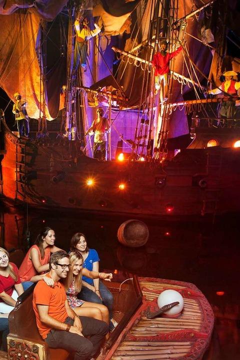Piraten in Batavia: Nicht die schnells... vielleicht die, mit den meisten Fans.  | Foto: Europa-Park
