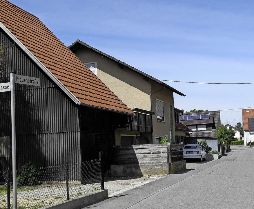 Die Sanierung der Pfauenstraße wurde teurer als veranschlagt.  | Foto: Umiger