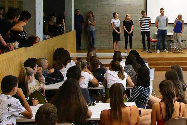 Was kommt nach dem Abi – Speeddating mit der Zukunft am Oberrhein-Gymnasium in Weil am Rhein
