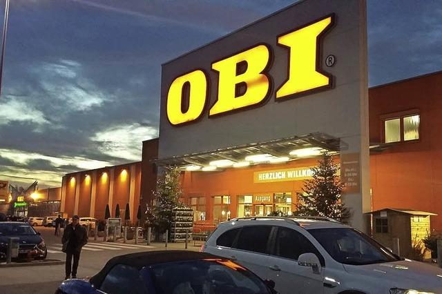 Bauantrag für Obi wird kommende Woche fertig