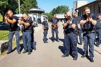 Wie die Polizei am Hochrhein Terror- und Amokeinsätze trainiert