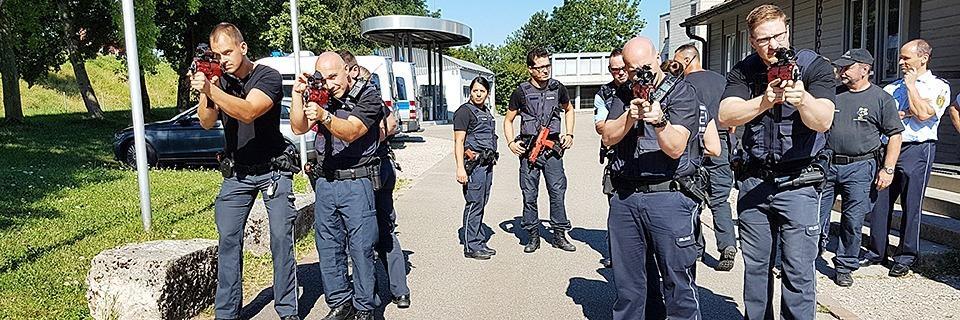 So trainiert die Polizei am Hochrhein Anti-Terror- und Amokeinsätze