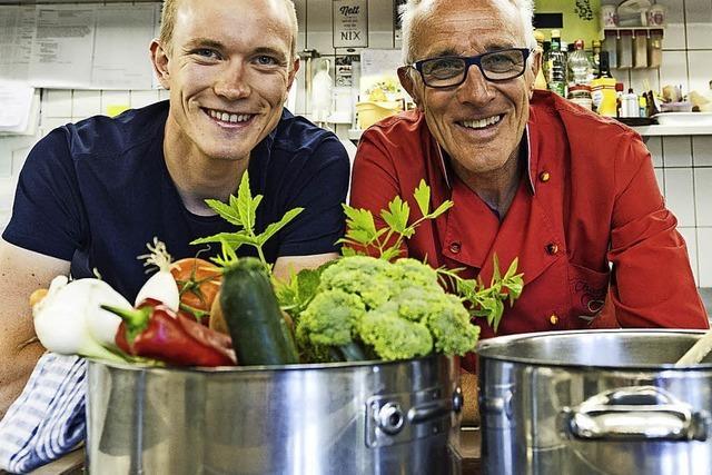 Zwei ausgekochte Suppensportler