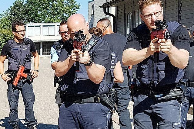 So trainiert die Polizei Anti-Terror- und Amokeinsätze