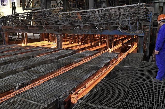 Schutzzölle auf Stahlimporte