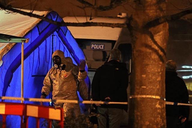 Ermittler wollen mehrere Russen als Nowitschok-Täter identifiziert haben