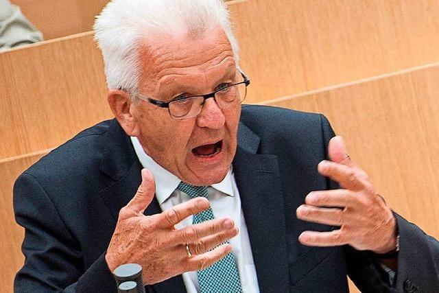Mehr sichere Herkunftsstaaten: Kretschmann gegen Grüne