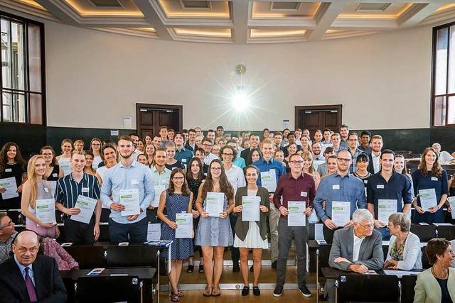 An der Uni Freiburg gibt's so viele Stipendiaten wie nie zuvor