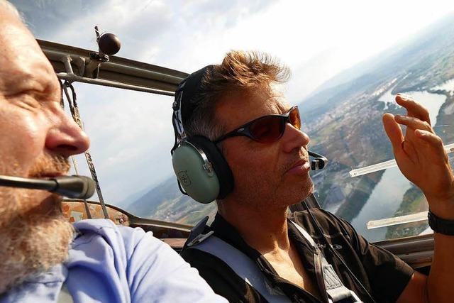 Video-Rundflug über Rheinfelden: Die Heimat von oben