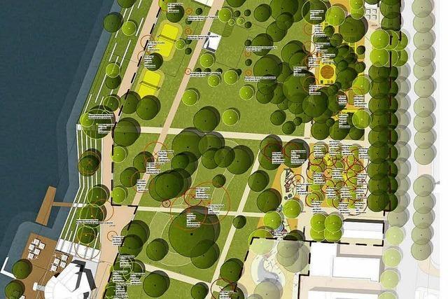 Rheinpark – im Winter geht's los