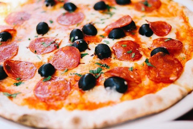 Wo werden Pizzen bestellt?