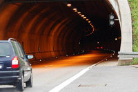 Unfall im Nollinger-Berg-Tunnel bei Rheinfelden