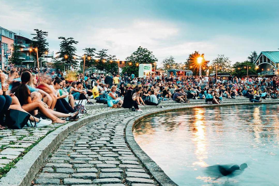 Das Seefest in Freiburg sorgt für ein buntes Unterhaltungsprogramm.  | Foto: Fabio Testa
