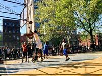 """In New Yorks Basketballkäfig """"The Cage"""" gelten besondere Regeln"""