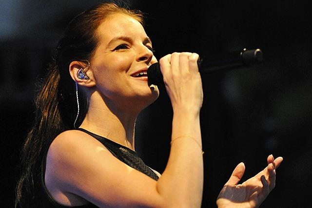 Fotos: Yvonne Catterfeld und Band in Bad Krozingen