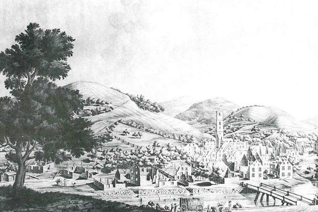 Katastrophe vor 200 Jahren: Wie Zell fast komplett niederbrannte