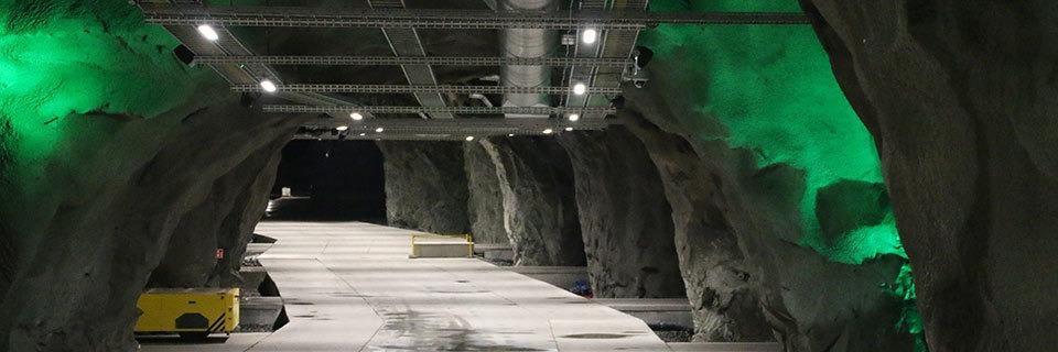 In dieser norwegischen Mine werden Bitcoins geschürft