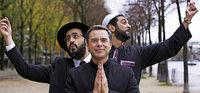 Drei Geistliche mit Trash-Potenzial