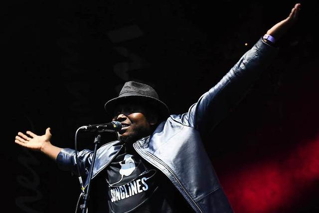 Fotos: Songhoy Blues beim Stimmenfestival im Lörracher Rosenfelspark