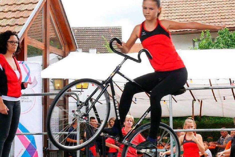 Ein buntes Programm hat es beim Dorffest in Wallbach gegeben.