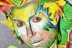 Fotos: Bunte Körper beim Bodypainting-Festival am Titisee