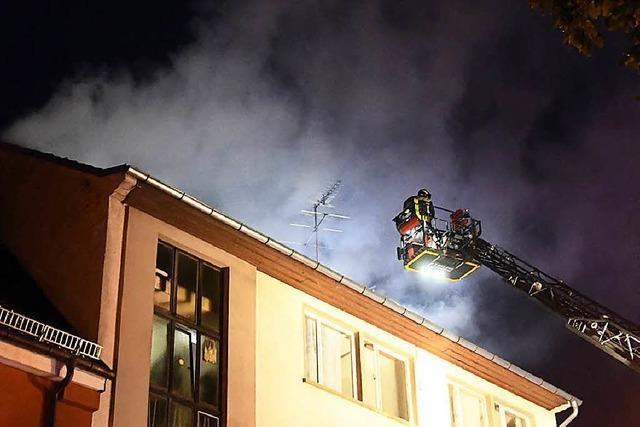 Polizei ermittelt Tatverdächtigen nach Brand in Lahr