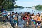 Fotos: Rheinfelder Rheinschwimmen vom Inseli zum Ruderclub