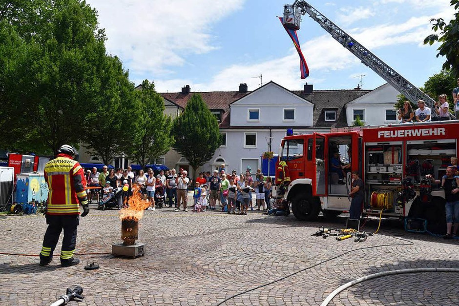 Impressionen vom Blaulichttag in Rheinfelden (Foto: Martin Eckert)
