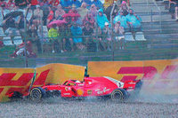 Bitteres Vettel-Aus bei Formel-1-Heimrennen: Hamilton profitiert doppelt