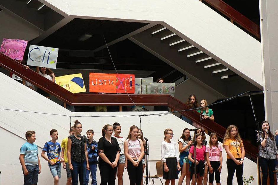 Die Schule soll Lern- und Lebensort sein. Wie dies am Georg-Büchner-Gymnasium in Rheinfelden, davon machten sich zahlreiche Besucher ein Bild. (Foto: Charlotte Pötter)