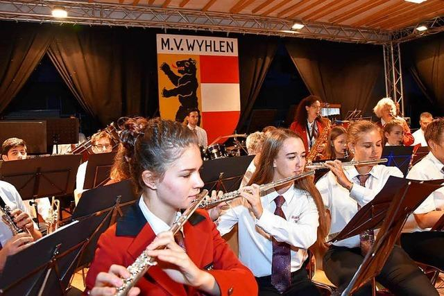 Fotos: Musikverein Wyhlen feiert sein Güggelifest