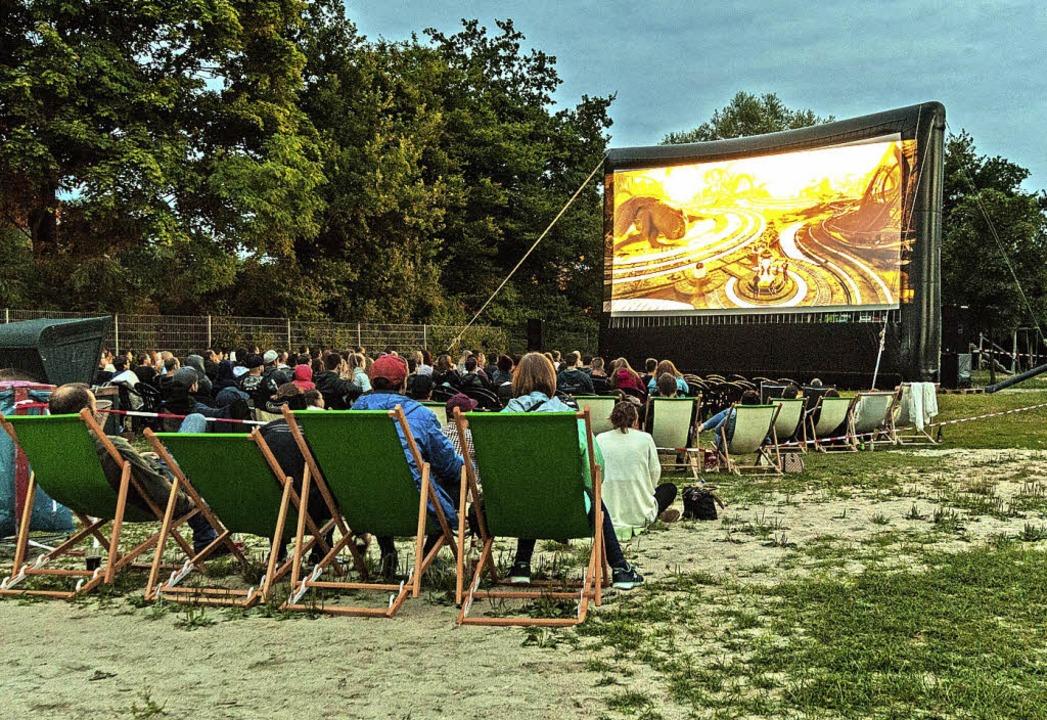 Open-Air-Kino gibt  es diesen Sommer n...in Offenburg, wohl aber am Achernsee.   | Foto: Roland Spether
