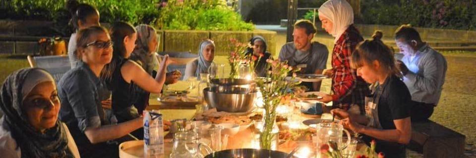 Kitchen on the run: Im Eschholzpark finden an vier Abenden Kochevents statt