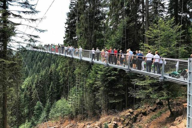 Gemeinden konkurrieren um die längste Hängebrücke
