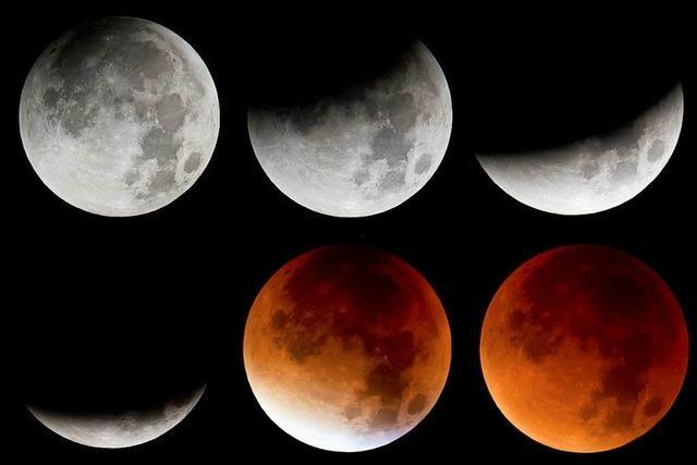 Längste totale Mondfinsternis des 21. Jahrhunderts am Freitag