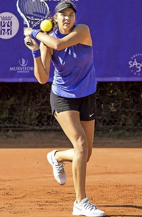 2017 war das bisher beste Tennisjahr f...in Barcelona bis ins Achtelfinale kam.  | Foto: Privat