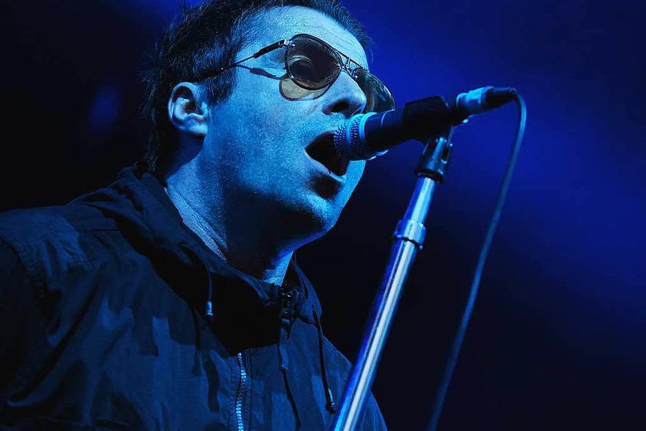 Liam Gallagher in Lörrach (Foto: Miroslav Dakov)