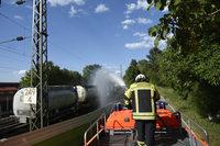 Gefahrguteinsatz am Bahnhof Rheinweiler beendet – Rheintalbahn wieder frei