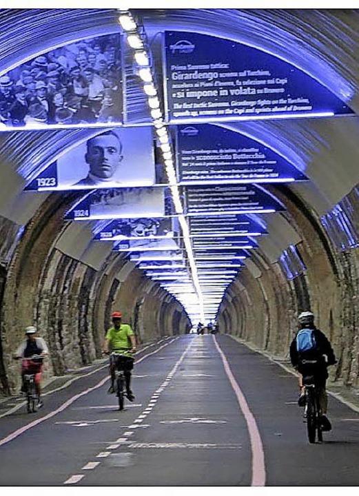 Durch  den Tunnel    Foto: O. Cadore
