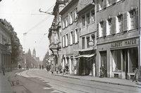 Wo der SC Freiburg früher in der Innenstadt präsent war